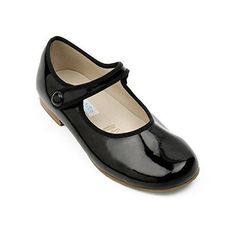 Elephantito Mary Jane w/Piping Patent Black Finally, a classic sweet mary jane, too bad it's 68 dollars. Toddler Outfits, Girl Outfits, Girls Shoes, Baby Shoes, Classic Girl, Long Toes, Mary Jane Shoes, Baby Girl Dresses, Mary Janes