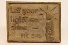 Class of 1945 bronze time capsule cover