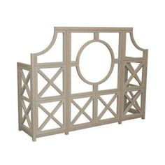 84 in. x 22.5 in. Circle Garden Feature