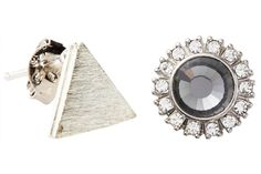 Remix Your Back-to-School Jewelry Game with Teen Vogue and Stella and Bow => Mismatched Earrings