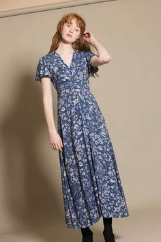Samantha Pleet - Floral Gloriana Dress   BONA DRAG