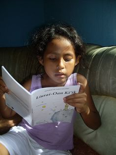 Reading The Little Prince in East Timor