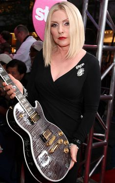 Still as hot as ever  Debbie Harry attends Fashion Rocks at Radio City Music Hall in New York