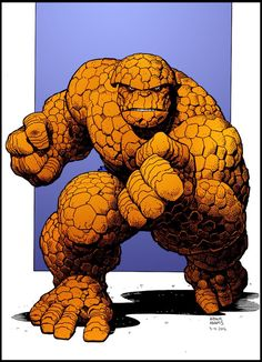 """""""It's CLOBBERIN' Time!""""- The ever-lovin THING; I want Michael Chiklis to replay his role as the Thing again."""