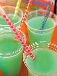 Party Punch - this was a huge hit with kids and able adults. I did put some whipped cream vodka in there for the adults.
