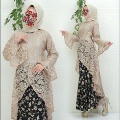 Model Kebaya Muslim, Kebaya Modern Hijab, Model Kebaya Modern, Kebaya Hijab, Kebaya Lace, Kebaya Dress, Hijab Dress, Dress Muslim Modern, Batik Muslim