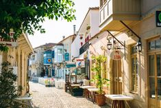 Alaçatı's seafood is second to none—fresh octopus, mussels, you name it and these little streets have it.