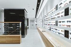 Could be touched japanese store, glasses shop, optical shop, retail archite Japanese Store, Retail Architecture, Glasses Shop, Optical Shop, Retail Store Design, Frame Display, Shop Front Design, Shop Window Displays, Shop Plans