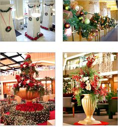 So cool. This company does holiday decorating (like I do), only they provide all of the decorations. Very interesting.