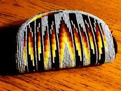 Beaded coin purse