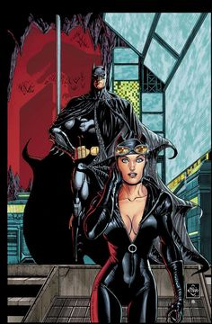 Batman & Catwoman by Ethan Van Sciver