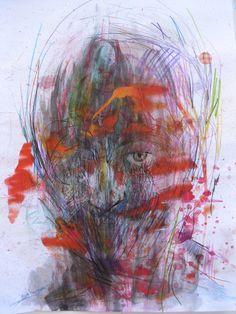 Giorgos Chatziagorou, Portrait in color (7) on ArtStack #giorgos-chatziagorou #art