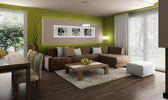 Feng shui colorful decor tips. Nice 5 Feng Shui Rules For Your House. Classy Living Room, Living Room Green, Living Room Colors, Living Room Modern, My Living Room, Living Room Furniture, Living Room Designs, Living Room Decor, Indian Home Interior
