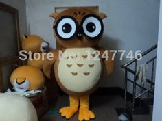 Best price on High quality Owl Mascot Costume Adult //    Price: $ 260.00  &…