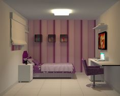 Projeto de quarto de adolescente