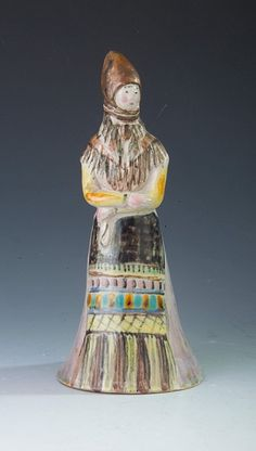 Gádor István: parasztlány Ceramic Figures, Lany, Folk Art, Princess Zelda, Culture, Ceramics, Costumes, Embroidery, Fictional Characters