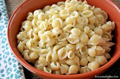 This garlic butter pasta recipe is a popular way of serving pasta in Italy and the kids will devour it!