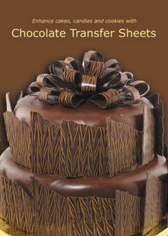 Chocolate Transfer Sheets DVD