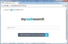 mywebsearch.com.au redirect entfernen