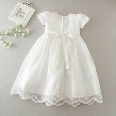 5ad44f9da0a 61 Best Baby christening gowns images in 2018 | Baptism dress, Girls ...