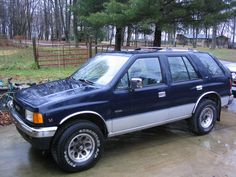 My buddy's first car, the rodeo. Similar to my blazer