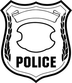 Police Badges Clip Art - ClipArt
