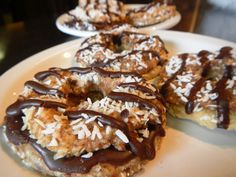 "Raw Samoa ""Girl Scout"" Cookie"