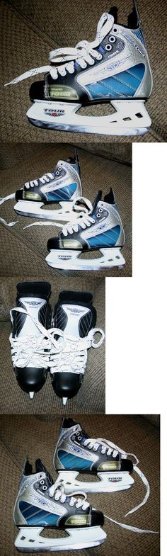 Other Hockey Skates 165935: New Tour Code Blue Trufit Hockey Skates Juniors Size 5, 38 Euro BUY IT NOW ONLY: $52.99