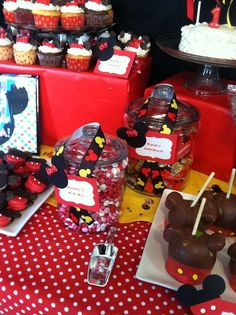 """Photo 10 of 15: Mickey and Minnie Mouse / Birthday """"Laura's first birthday!!!"""" 