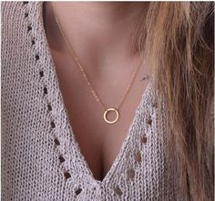 """More Beautiful Bling! Circle Pendant Ne... Go straight to our store to purchase. Just click here and """"Add to Cart"""" http://www.allthisbling.com/products/circle-pendant-necklace?utm_campaign=social_autopilot&utm_source=pin&utm_medium=pin"""