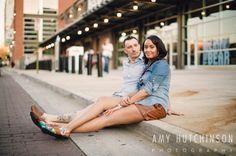 Criston + Garrett: A Downtown Memphis Engagement. Memphis wedding photography by Amy Hutchinson Photography. #memphis #wedding