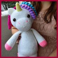 Unicornio amigurumi fácil