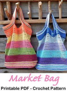 Make a market bag. Market Bag Crochet Patterns – Great Totes - A More Crafty Life Make a market bag. Market Bag Crochet Patterns – Great Totes - A More Crafty Life Bag Crochet, Crochet Market Bag, Crochet Handbags, Crochet Purses, Crochet Crafts, Crochet Stitches, Crochet Hooks, Crochet Patterns, Bag Patterns