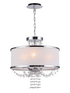 Casey Chandelier by Crystorama at Gilt