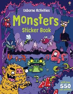 Show details for Monsters Sticker Book