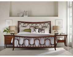 Marquette King Fretwork 3 PC Bedroom Set