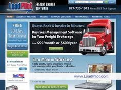 Loadpilot- Freight Broker Software- trucking management software, transportation software, truck software, move more loads, Home Based Business, dispatch trucking software, QuickBooks trucking software