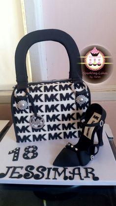 Michael Kors Purse Cake And Heels
