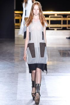Rick Owens Spring 2015 Ready-to-Wear - Collection - Gallery - Look 4 - Style.com