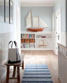 Nautical decor.. Clean and bright...