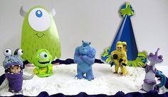 Monsters Inc. Birthday Cake Set Sulley, Boo, Mike Wazowski, Randall Boggs, CDA