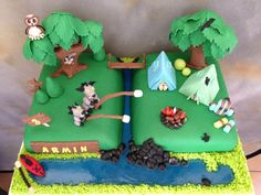 """Camping Cake by """"Fantasy Cakery"""""""