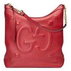 cc2960e308e Gucci Red Leather Handbag