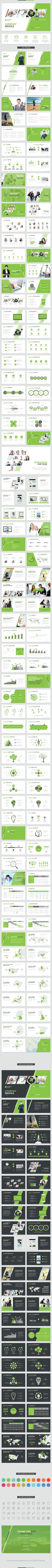 Company Profile PowerPoint Template  #marketing plan #business plan • Download ➝ https://graphicriver.net/item/company-profile-powerpoint-template/15182669?ref=pxcr