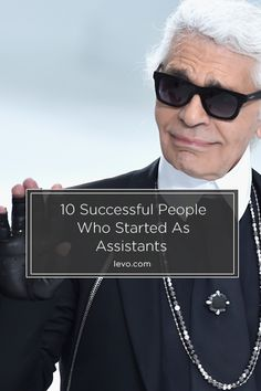 This is what success looks like. Karl Lagerfeld www.levo.com