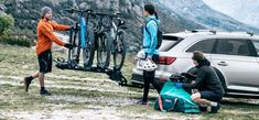 With something to suit all openings, here are the options out there for transporting your by a car. Best Bike Rack, Car Bike Rack, Car Racks, Bicycle Rack, Thule Roof Rack, Lance Campers, First Day Of Summer, Truck Accessories, Cool Bikes