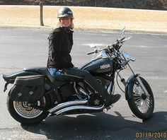 There's nothing quite like the feeling of being on a Harley and loving life."