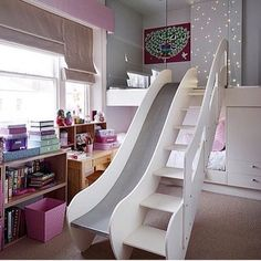Crazy Kids' Rooms That Are  Supercool | POPSUGAR Moms This is a really cool slide!!
