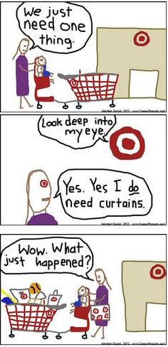 OH MY GOSH THIS IS EVERY TARGET TRIP I TAKE!