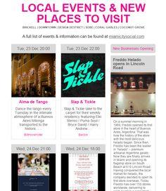 This Week 23 Dec - 28 Dec 2014 Where To Go & What's New  #Miami #MiamiEvents #EventsCalendar #NewBusiness  Visit : http://m.miamicitysocial.com/newsletter/23-28Dec2014.html